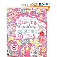 Drawing, Doodling and Colouring: Girls Usborne Drawing, Doodling and Colouring: Amazon.co.uk: Lucy Bowman: Books