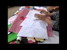 20120213 CUSTOMIZACAO EM PANO DE PRATO 1 - YouTube