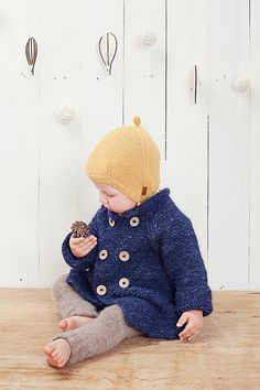 Hey, I found this really awesome Etsy listing at https://www.etsy.com/listing/200722546/blue-hooded-baby-coat-hand-knitted-blue