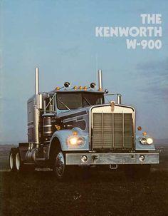 Vintage Kenworth W-900 brochure