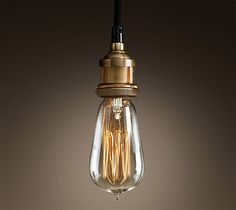 A Roundup of Warm Industrial Lighting