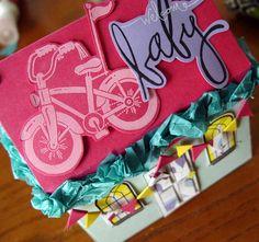 fun packaging for a baby gift! @kiki creates
