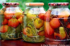 Tomaten in Essig einlegen
