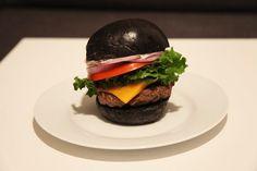 Burger King Black Burger with Squid Ink Brioche Buns