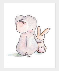 I am always here my dear, said the elephant
