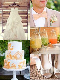 citrus sorbet wedding inspiration...