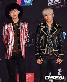 GD & Taeyang 2014 MAMA awards