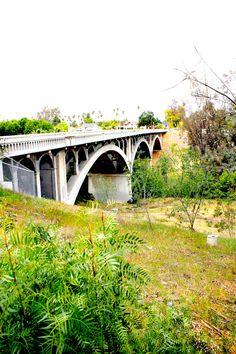 Hidden bridge in Riverside, CA