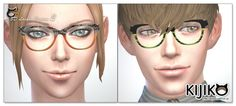 The Sims 4   Kijiko Eyelashes v2 facial details for male & female adult #installed