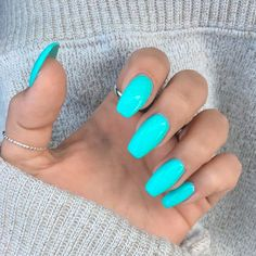 it] 36 Summer Nails for a Full Send! [Send it] 36 Summer Nails for a Full Send! - [Send it] 36 Summer Nails for a Full Send! Bright Summer Acrylic Nails, Blue Acrylic Nails, Bright Blue Nails, Summer Nail Colors, Summer Nail Polish, Acrylic Nail Designs For Summer, Acrylic Summer Nails Coffin, Cute Nail Colors, Cute Summer Nails