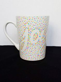 Dotted Sharpie Mugs with Words (2)
