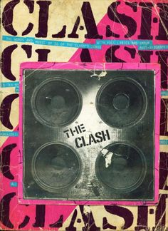 The Clash #clash - still one of my fav bands! check out our retro Clash shirts at #dustyjunk.com! #1980s