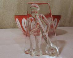 Vintage Christer Sjögren Lindshammer Sweden Glass Blower Paperweight Sculpture