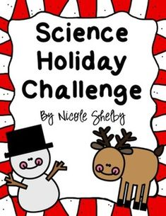Science Holiday Challenge Freebie