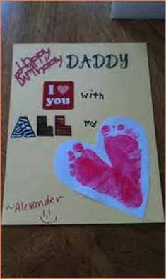 craft ideas for dads birthday handprint birthday card with fingerprint balloons 6157