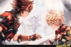 Sora: Come on Ventus it's time to wake, Terra and Aqua are waiting for you.
