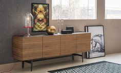 Dakota sideboard by Cattelan Italia is an understated gesture of contemporary sophistication. Placing extreme emphasis on functional propensities, Dakota sideboard is designed to address various height and width requirements. Sideboard Modern, Wood Sideboard, Dining Furniture, Furniture Design, Italia Design, Entry Way Design, Small Living Rooms, Interior Design, Home Decor