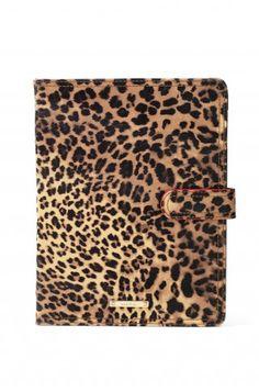Stella & Dot Chelsea iPad Case - Leopard