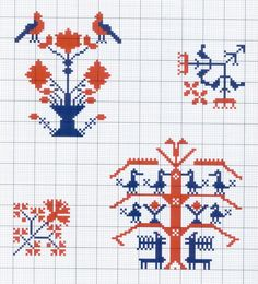 Gallery.ru / Фото #22 - Motif scandinaves traditionnel - Mongia