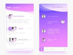 Task Plan Concept by liric0o #Design Popular #Dribbble #shots