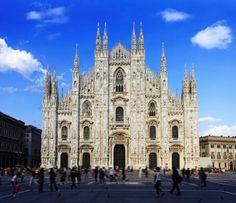 Cathédrale de la Nativité-de-la-Sainte-Vierge (Duomo) - Milan, Italie https://www.hewago.com