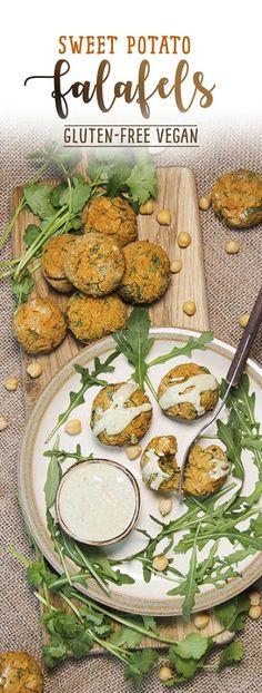 Sweet potato falafels #glutenfree #vegan #chickpeas by Trinity Bourne