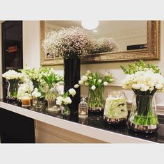 Each event held at receives complimentary fresh flowers in foyers. Foyers, Fresh Flowers, Wedding Flowers, Wedding Venues, Reception, Table Decorations, Night, Home Decor, Wedding Reception Venues
