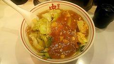 蒙古タンメン + 野菜大盛(蒙古タンメン 中本 吉祥寺店) | 以上、レポっす。