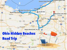Instead of visiting one of the most popular water parks or Lake Erie beaches, consider taking a trip across the state to visit some of Ohio's best, little-known beaches.