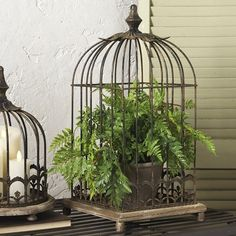 Decorative Vintage Style Birdcage