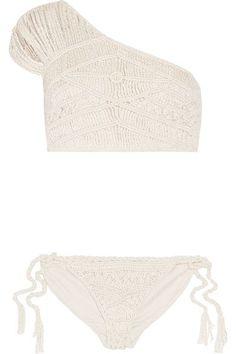 c1e5a9f30 Tabula Rasa's 'Hathor' bikini is hand-macraméd from Italian-sourced silk and