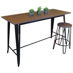 Chairforce/Brayco Replica Tolix Counter Height Table 91cm Price $259