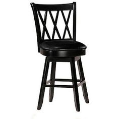 Bar Stools with comfy leather seats!