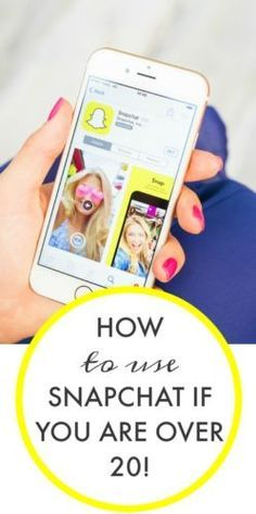 How to use snapchat - a dummies guide!!