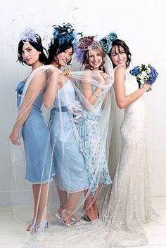 BRIDE CHIC: OH LA LA! BRIDESMAID CHIC