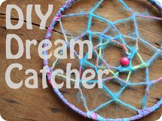 diy dream catcher - G has requested we make a replacement for the one she insisted on sleeping with under her pillow--it met an untimely demise...