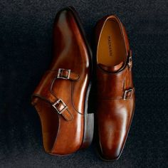 Magnanni 'Miro' Double Monk Strap Shoe. Sharp!!!