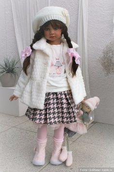 Новые малышки от Angela Sutter. Зимняя коллекция / Коллекционные куклы Angela Sutter / Бэйбики. Куклы фото. Одежда для кукол