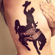 bucking horse tattoo tattoos pinterest horse tattoo and rh pinterest com Wild Horse Tattoos bucking horse tattoo designs