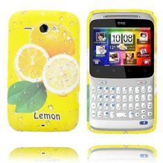 Fersk Fruit (Sitron - 3 Sitroner) HTC ChaCha Deksel