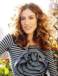 Sarah Jessica Parker's perfectly tousled curls
