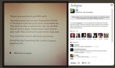 This is the inspirational memo Apple employees receive on their first day.