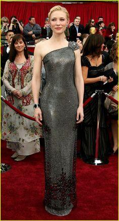 """Cate Blanchett, """"The Queen Runner Up"""", Swarovski, Oscars 2007"""