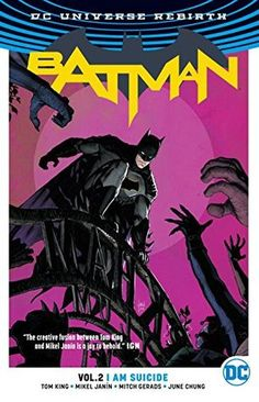 Batman Volume 2: I Am Suicide By Tom King, Mikel Janin (Artist), Mitch Gerads(Artist), June Chung (Colourist), Clayton Cowles (Letterer) I received a free copy of Batman Volume 2: I Am Suicide fro…