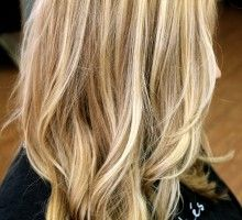 dirty blonde hair with highlights
