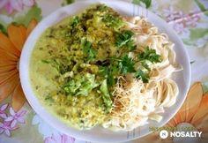 Cukkinis-brokkolis tejszínes szósz | NOSALTY