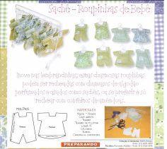 Little clothes for the dollhouse nursery