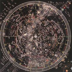 Map of the Universe by Tomas Filsinger -- star chart poster