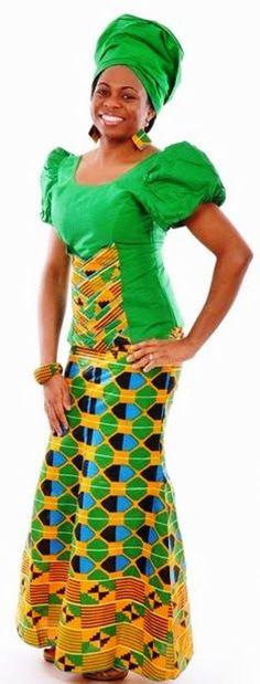 Ghana Kente Styles - Ghanaian Wedding…Bold- Bright- Beautiful ...