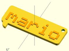 **Your text** on a call out plate with hanger, customize it using *customizer* or *OpenSCAD*   Based on:   -   [OpenSCAD 3D Text Generator](https://www.thingiverse.com/thing:59817)   -   [OpenSCAD Round corners cube](https://www.thingiverse.com/thing:8812)